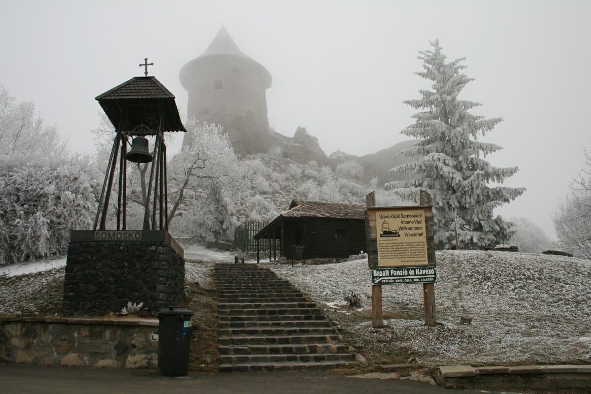 Šomoška - hrad Šomoška