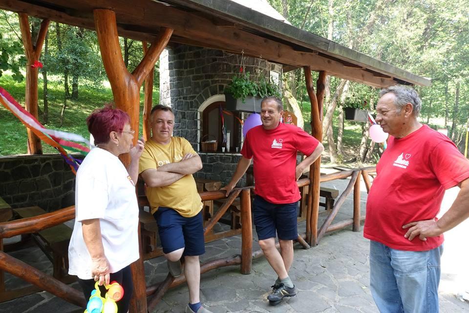 MDD Šiatorská Bukovinka - o zdarný priebeh podujatia sa postaral starosta obce J. Badinka